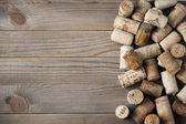 Assorted wine corks — Foto Stock