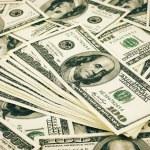 Money pile — Stock Photo #48921485