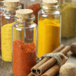 Spices in bottles — Stock Photo #49512565