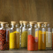 Spices in bottles — Stock Photo #49914409