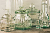 Glassware collection — Stockfoto
