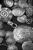Ethnic jewelry — Stockfoto