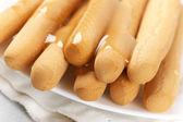 Honey breadsticks — Stock Photo