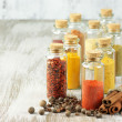 Spices in bottles — Stock Photo #51084609