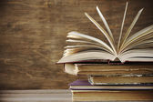 Stack of books — Foto Stock
