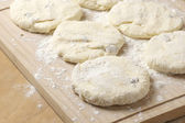 Cooking: cake dough — Stock Photo