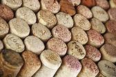 Rolhas de vinho sortidas — Foto Stock