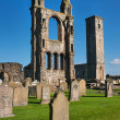 Ruins of St. Andrews Cathedral, Scotland — Stock Photo