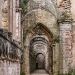 Fountains Abbey ruins — Stock Photo