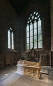 Tomb in Jedburgh Abbey — Stock Photo
