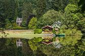 Loch Ard lakeside, Scotland — Stock Photo