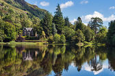 Loch Ard lakeside, Scotland — Stockfoto