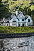 Loch katrine lakeside, schotland — Stockfoto