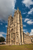 Facade of the Beverley Minster, Yorkshire, England — Stock Photo