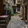 Bussana Vecchia, Liguria, Italy - Stock Photo