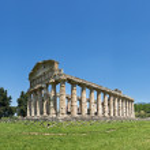 Temple Of Neptune, Paestum, Italy — Stock Photo #2708194