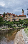 Cesky Krumlov Castle, Bohemia, Czech Republic — Stock Photo