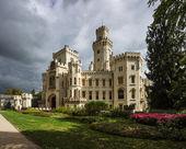 Hluboka castle — Stock Photo