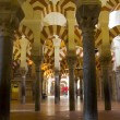 Interior of Mosque,  Cordoba,Andalusia,  Spain — Foto Stock