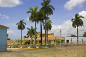 Principal square of Triinidad. Cuba. — Stock Photo