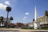 The Plaza de Mayo, Buenos Aires — Stock Photo