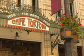 Cafe Tortoni, Buenos Aires, Argentina. — Stock Photo