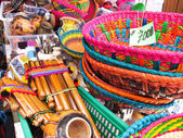 Store traditional products, Andes, Chile — Stock Photo