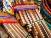 Andean flutes — Stock Photo