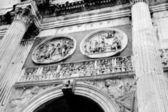 君士坦丁拱的详细信息 — 图库照片
