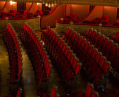 Locations of Teatro Liceu, Barcelona, — Stock Photo