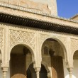 Stock Photo: Patio of Arrayanes of Alhambra, Granada, Spain