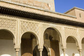 Patio of Arrayanes of Alhambra, Granada, Spain — Stock Photo
