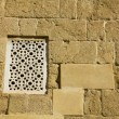 Arabic window and wall — Stock Photo