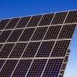 Stock Photo: Photovoltaic plant