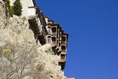 Hangende huizen, cuenca, castilië-la mancha, spanje — Stockfoto