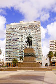 Statue of General Artigas Montevideo, Uruguay — Stock Photo