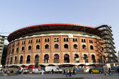 Bullring Arenas. Barcelona — Stock Photo