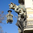 Chinese Dragon in the Ramblas, Barcelona — Foto de Stock