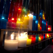 Church candles — Stock Photo #18050693