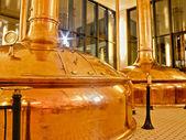 Fábrica de cerveja antigas — Foto Stock