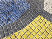 Mosaik i las ramblas — Stockfoto