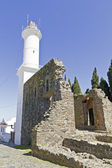 Lighthouse in Colonia — Stock Photo