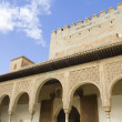 Patio of Arrayanes of Alhambra, Granada, Spain - Stock Photo