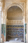 Mosaic detail of Arrayanes Patio — Stock Photo