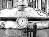 Medidor de temperatura. — Foto de Stock
