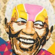 Tribute to Nelson Mandela — Stock Photo