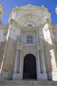Entrance of New Cathedral on Cadiz. — Stock Photo