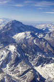 Mount Aconcagua in Argentina (highest pick in America continent) — Stock Photo