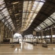 Train station. Barcelona. — Stock Photo