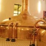 Antique Beer Factory — Stock Photo